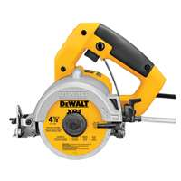 "DeWALT Tile Saw 4 3/8"" Wet/Dry"