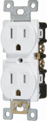 "Cathelle Receptacle ""Tamper-Resistant"" Standard 15A"