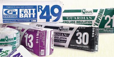 Guardian Batt Insulation - from R8 to R49